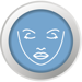 vampire facial prp treatment icon